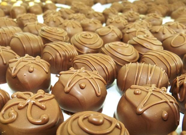 Ga-2 trufas de chocolate artesanal (G)