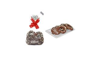 Pacote Biscoito Amanteigado com Cobertura de Chocolate