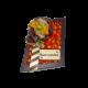 embalagem de chocolate losango pequeno