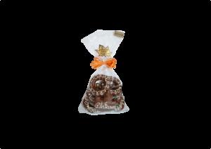 Saco Biscoito Amanteigado com Cobertura de Chocolate