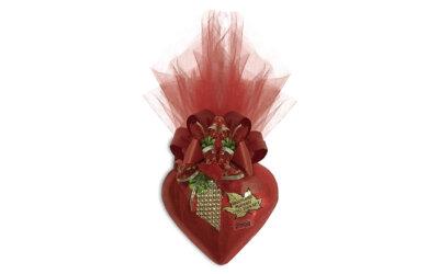 Coração Chocolate Grande