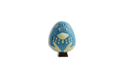 Galinha de Chocolate Azul