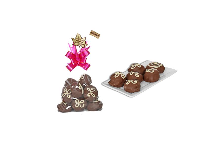 Pacote Merengue com Cobertura de Chocolate